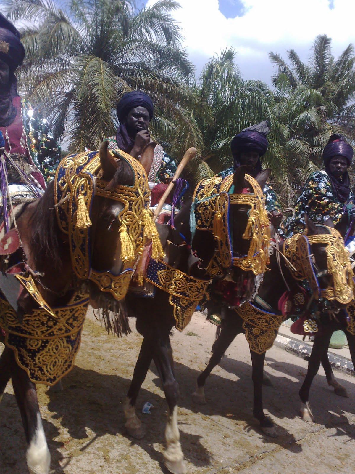 Hausa atları Durbar Fest