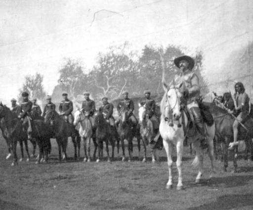 Colonel Cody and Georgian Riders - 1892
